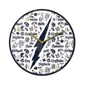HARRY POTTER INFOGRAPHIC CLOCK