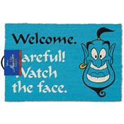 DISNEY ALADDIN DOOR MAT WATCH THE FACE