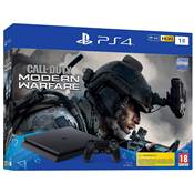 CONSOLE PS4 1To SLIM F + COD MW 4 - PS4