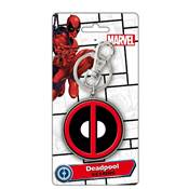 PORTE CLE DEADPOOL LOGO COLORED METALLIQUE 68084/180