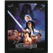 STAR WARS CADRE 3D LENTICULAIRE RETURN OF THE JEDI ONE SHEET