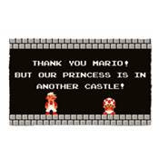 SUPER MARIO BROS 1 DOOR MAT