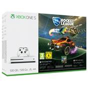 CONSOLE XBOX ONE S 500G ROCKET LEAGUE - XBOX ONE
