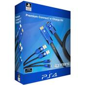 PREMIUM CONNECT N CHARGE KIT /20 - PS4