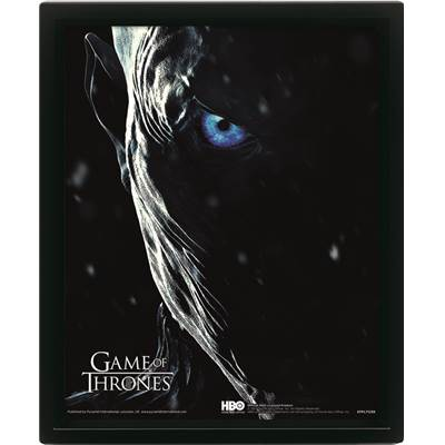 GAME OF THRONES CADRE 3D LENTICULAIRE JOHN SNOW /2