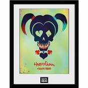 SUICIDE SQUAD HARLEY QUINN SKULL COLLECTOR PRINT 15X20CM /1