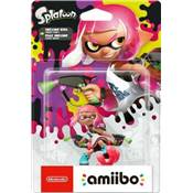 AMIIBO SPLATOON FILLE INKLING ROSE NEON /4