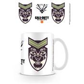 CALL OF DUTY MUG BLACK OPS 4 LOGO BATTERY