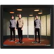 STAR TREK CADRE 3D LENTICULAIRE THE ORIGINAL SERIES TRANSPORTER