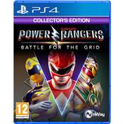 POWER RANGERS BATTLE FOR THE GRID COLLECTOR'S EDITION - PS4