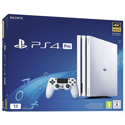 CONSOLE PS4 1To PRO G WHITE - PS4