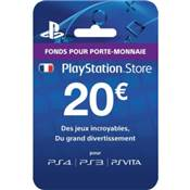 LIVE CARD 20€ /200 - PS4