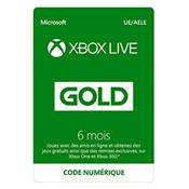 LIVE 6 MOIS /20 - XBOX ONE ESD