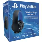 CASQUE STEREO WIRELESS 2.0 SONY NOIR /6 - PS4