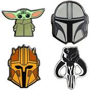 THE MANDALORIAN PINS EMAILLE
