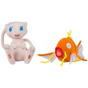 PELUCHE POKEMON ASSORTIMENT MEW ET MAGICARPE /6