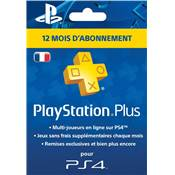 LIVE CARD ABONNEMENT PLAYSTATION PLUS 1 AN /200 - PS4