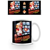 SUPER MARIO MUG NES COVER /6