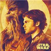 SOLO STAR WARS TOILE HAN AND CHEWIE