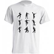 T SHIRT FORTNITE 9 DANSES /10