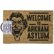 BATMAN DOOR MAT WELCOME TO ARKHAM ASYLUM