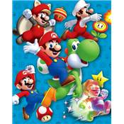 SUPER MARIO CADRE 3D LENTICULAIRE POWER UP