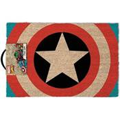 CAPTAIN AMERICA DOOR MAT SHIELD
