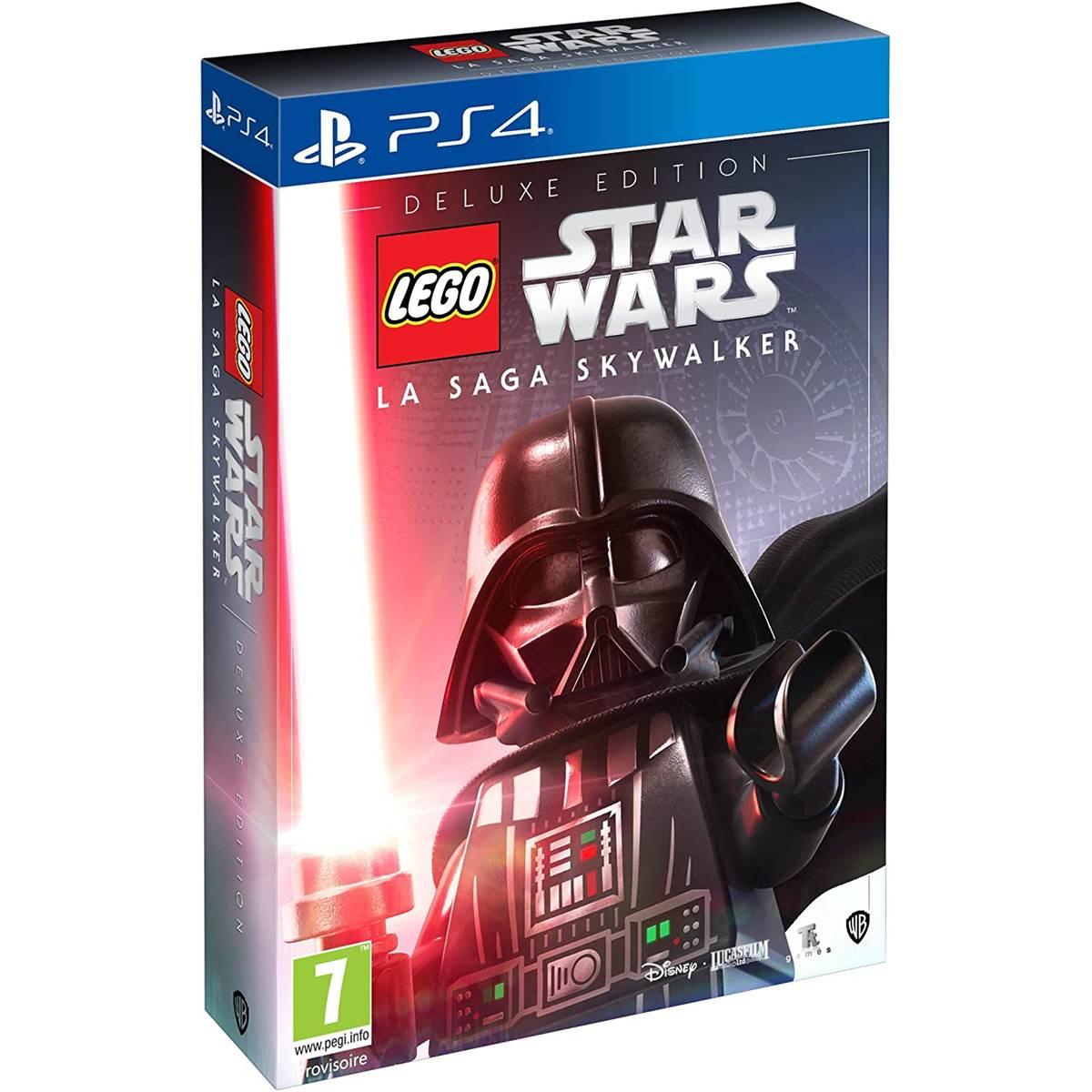 lego star wars la saga skywalker deluxe  ps4