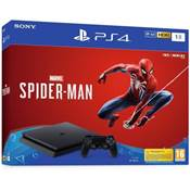 CONSOLE PS4 1To SLIM F + MARVEL SPIDERMAN - PS4