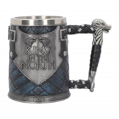 GAME OF THRONES CHOPE KING IN THE NORTH