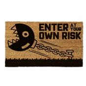 CHAIN CHOMP DOOR MAT RISK
