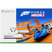 CONSOLE XBOX ONE S 500G FORZA HORIZON3 + HOT WHEELS - XBOX ONE
