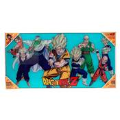 DRAGON BALL Z HEROES GLASS POSTER DRAGON BALL 60X30 CM