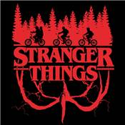 STRANGER THINGS TOILES LOGO FLIP 40X40