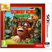 DONKEY KONG COUNTRY RETURNS - 3DS select