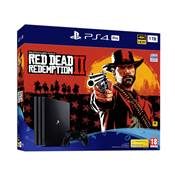 CONSOLE PS4 1To PRO G + RED DEAD REDEMPTION 2 - PS4