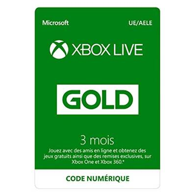 LIVE 3 MOIS /20 - XBOX ONE ESD