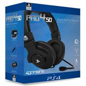 CASQUE STEREO GAMING HEADSET PRO4-50 BLACK /12 - PS4