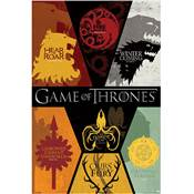 POSTER 25 GAME OF THRONES - SIGILS / PP33277
