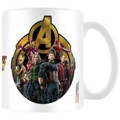 AVENGER INFINITY WAR MUG ICON OF HEROES