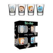 RICK AND MORTY VERRE A SHOT FACES
