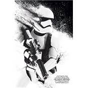 POSTER 76 STAR WARS EPVII - STORMTROOPER PAINT