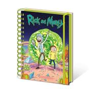 RICK AND MORTY NOTEBOOK PORTAL A5 WIRO